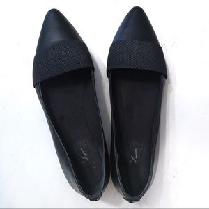 Simply Vera Black Flat Slip Ons